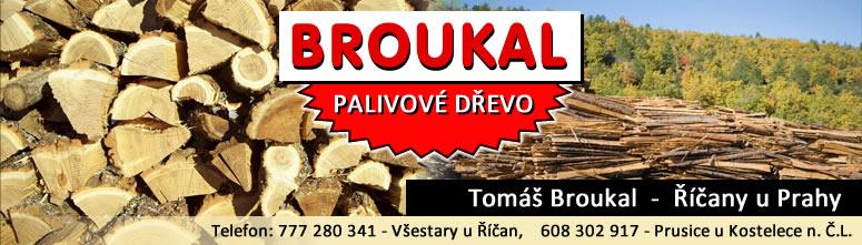 Palivové dřevo Broukal Praha
